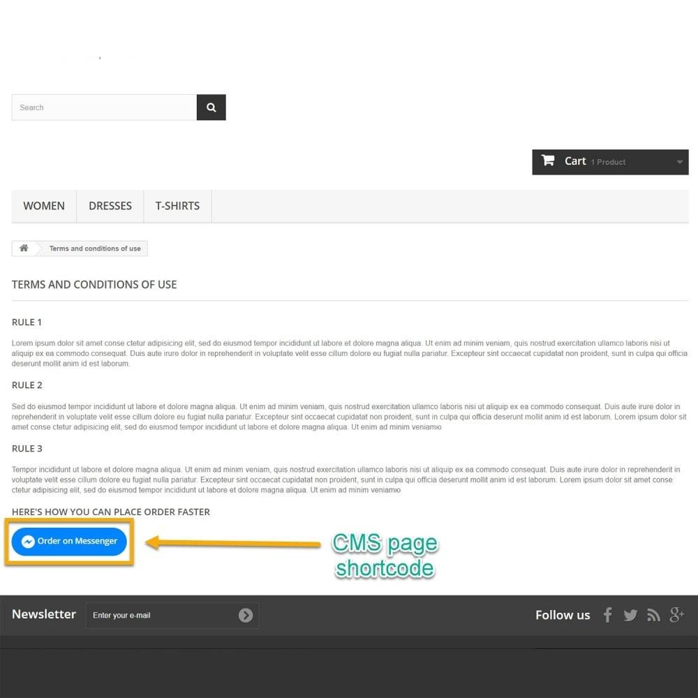 module - Gestione Ordini - Ordine su Messenger - 10