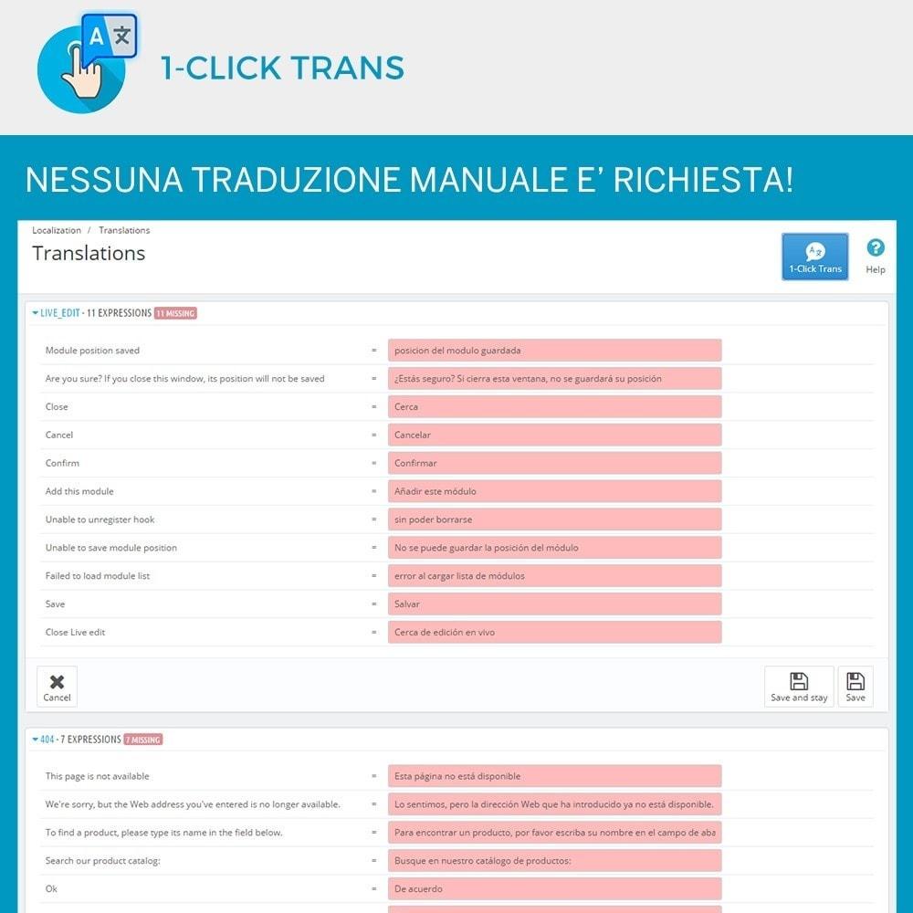 module - Lingue & Traduzioni - 1-Click Trans - 3