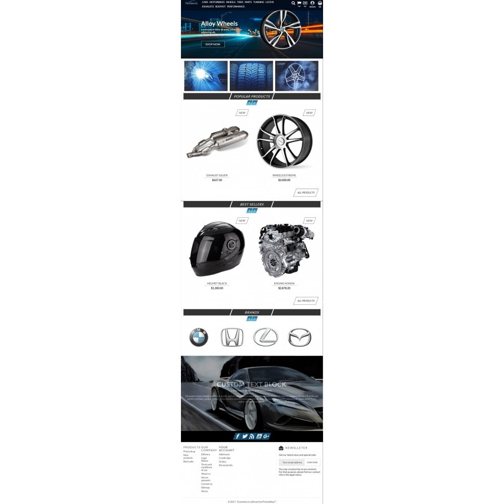 theme - Samochody - Automotive Store - 6