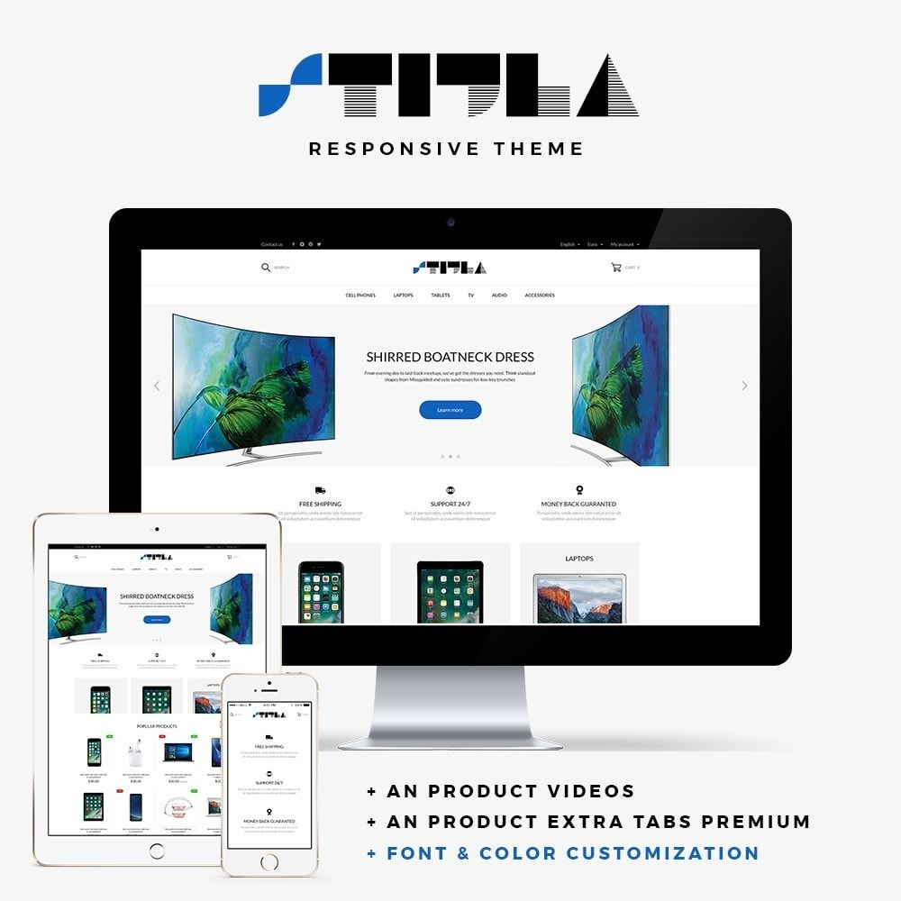 theme - Elettronica & High Tech - Stijla - High-tech Shop - 1