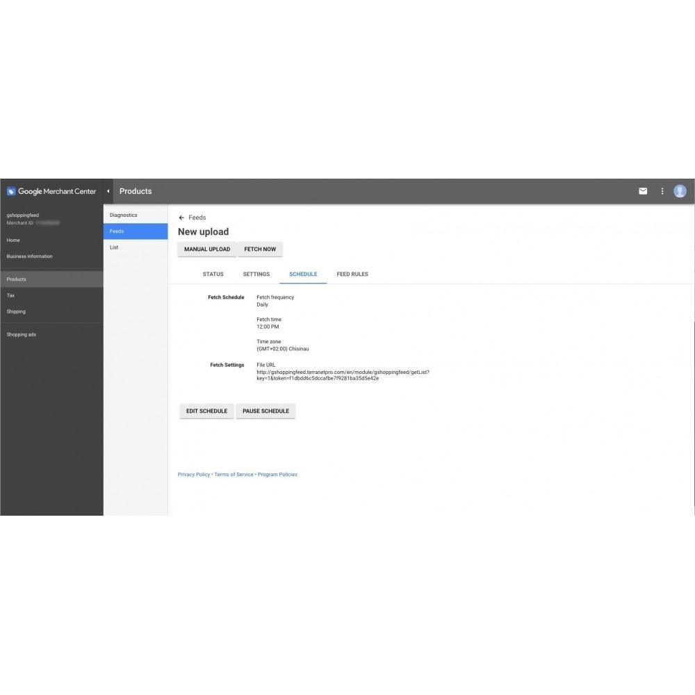 module - Сравнение цен - Google Shopping Feed (for Google Merchant Center) - 8