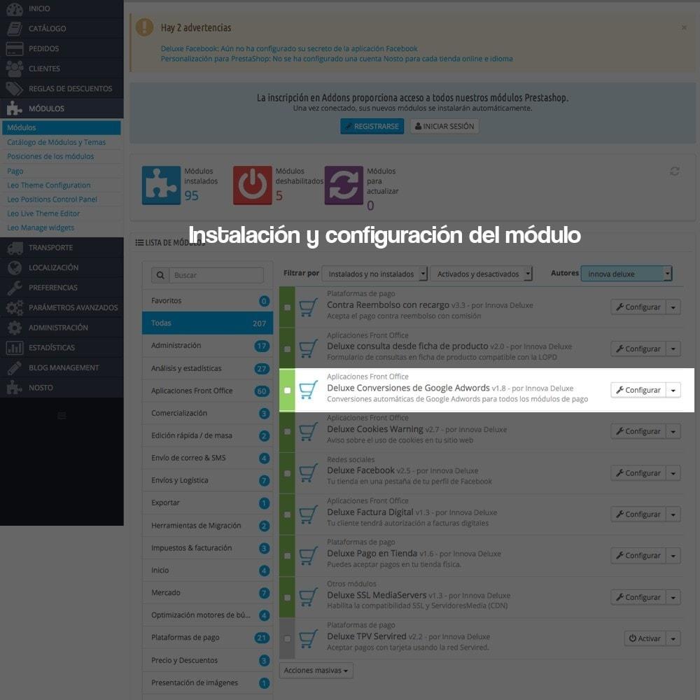 module - SEM SEA - Posicionamiento patrocinado & Afiliación - Embudos de conversiones de Google Adwords - 2