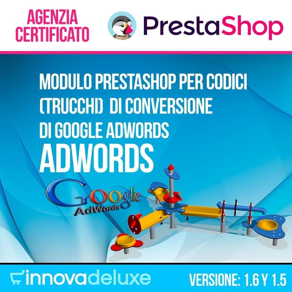 module - Indicizzazione a pagamento (SEA SEM) & Affiliazione - Trucchi di conversione per Google Adwords - 1