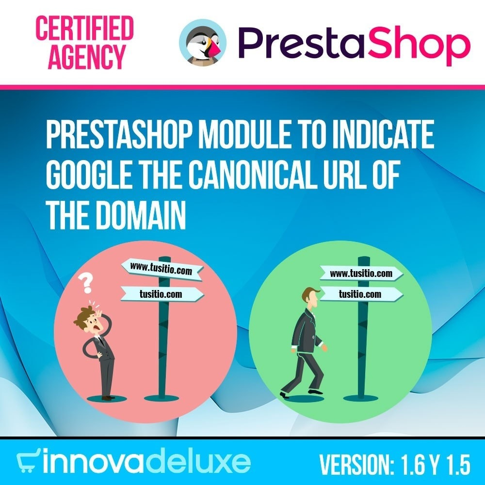module - URL & Omleidingen - Canonical URL redirect information for Google - 1