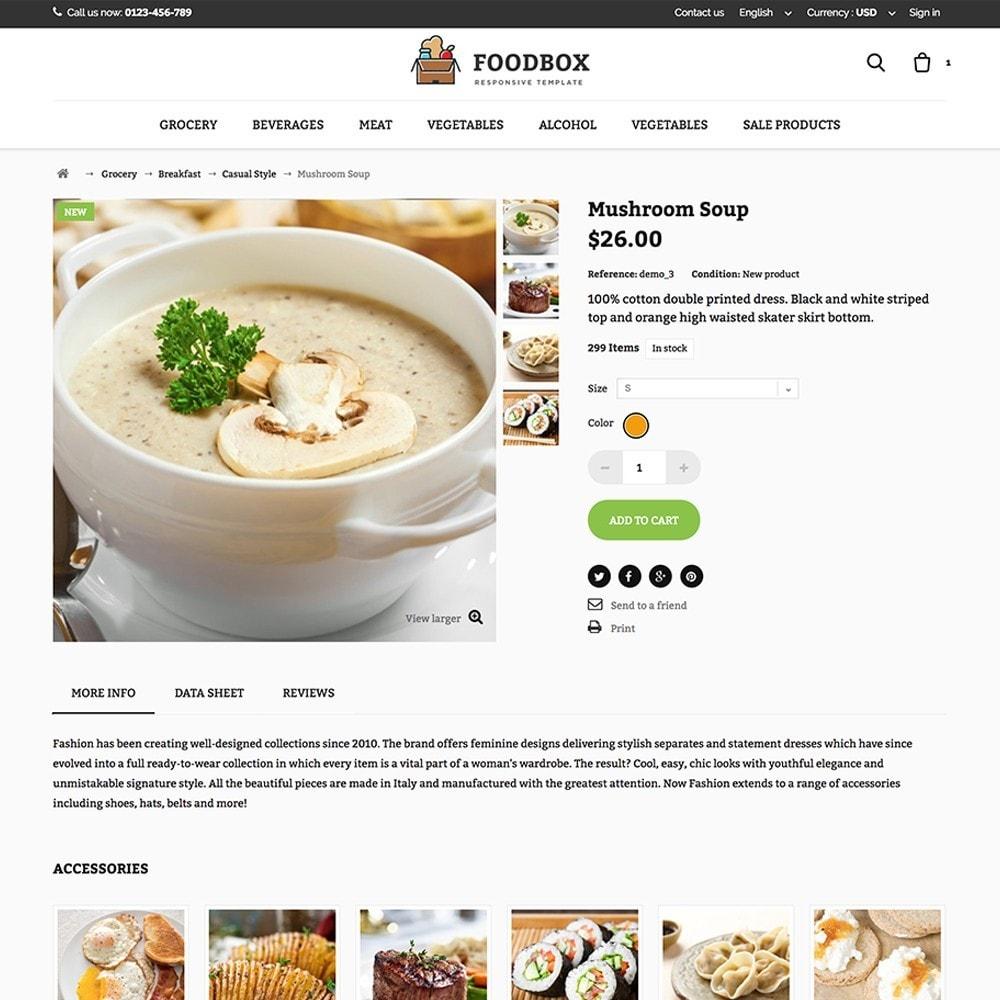 theme - Żywność & Restauracje - Foodbox - 4
