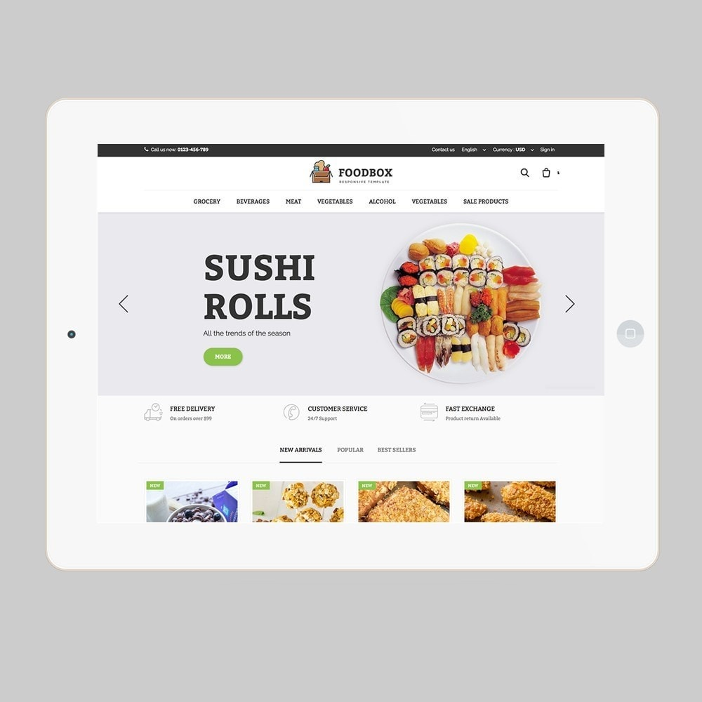 theme - Food & Restaurant - Foodbox - 7