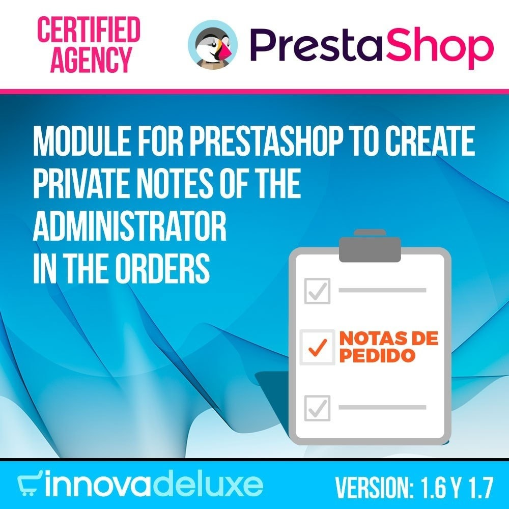 module - Orderbeheer - Private manager notes on orders - 1