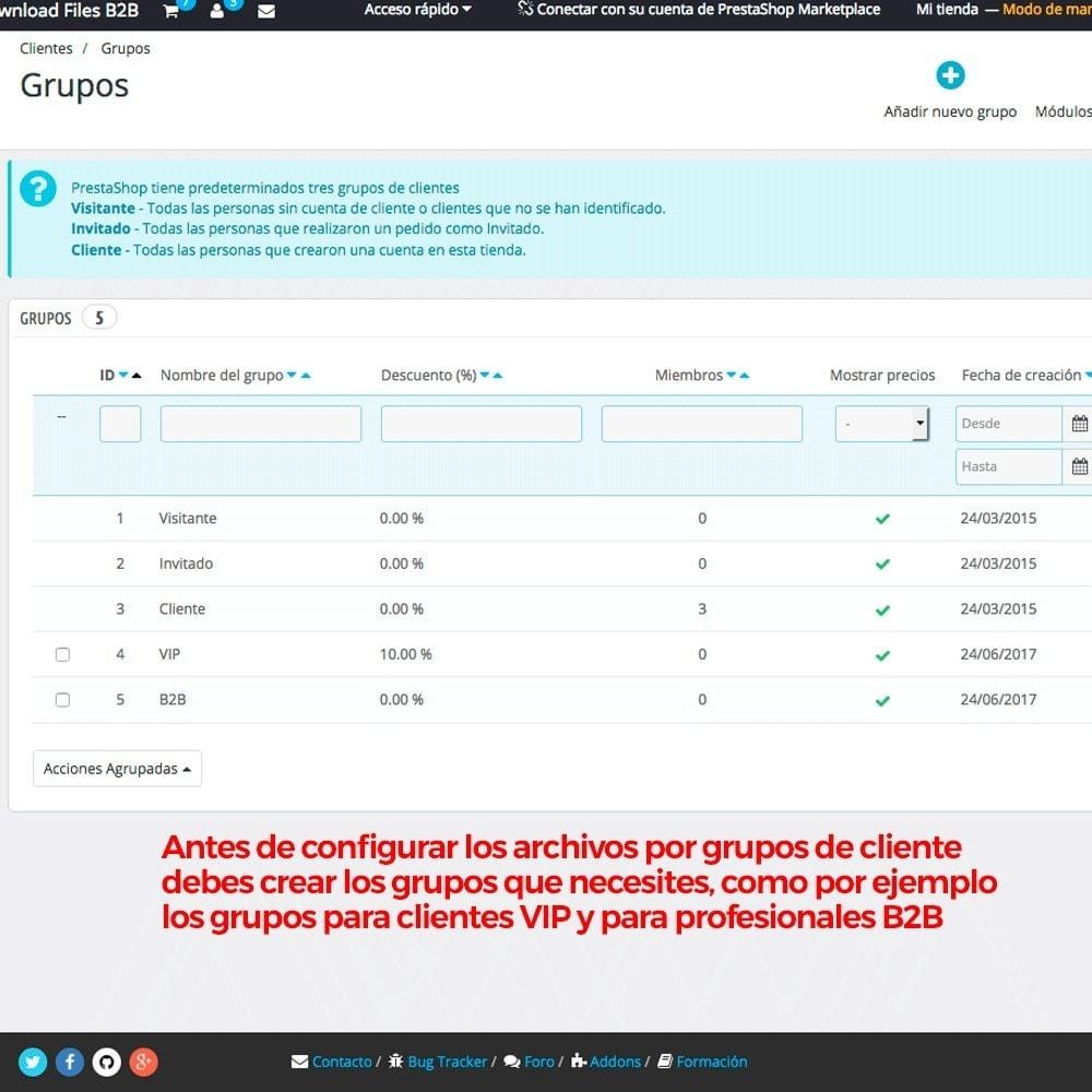 module - Gestión de clientes - Archivos adjuntos de producto por grupos de cliente - 3