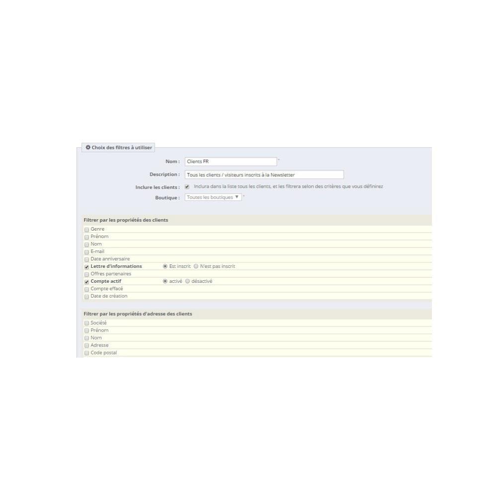 module - Import & Export de données - Export clients Pro - 2