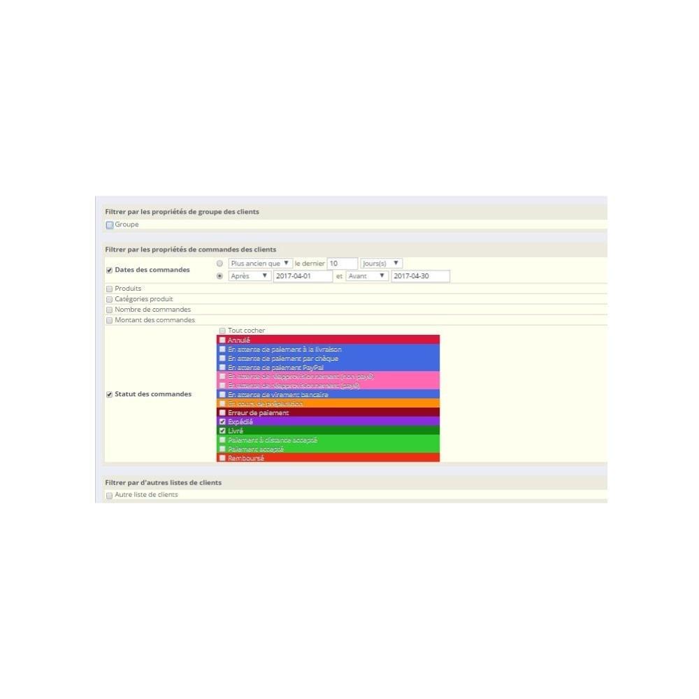 module - Import & Export de données - Export clients Pro - 3