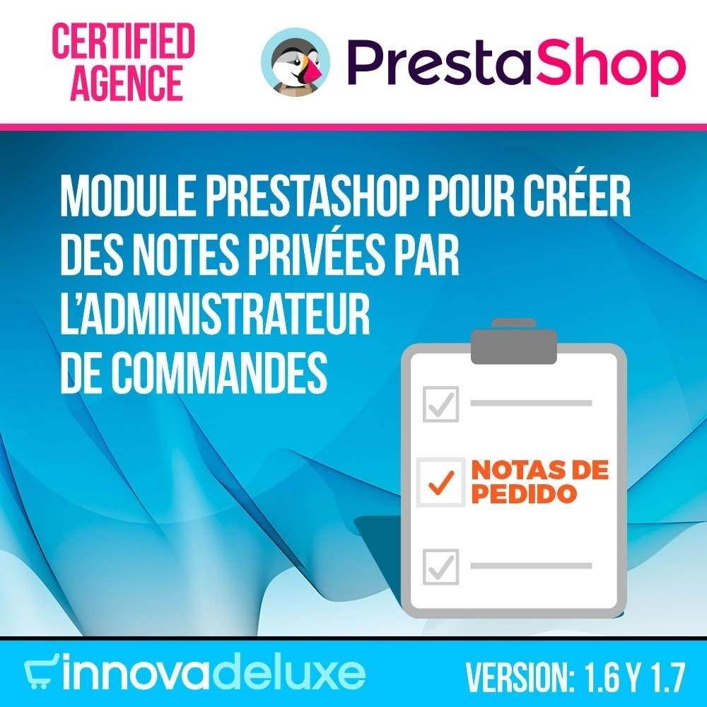 module - Gestion des Commandes - Notes personnelles de l'administrateur de commandes - 1