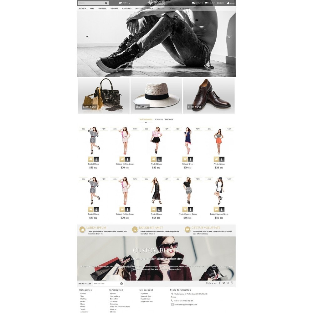 theme - Mode & Schuhe - Modern Fashion - 2