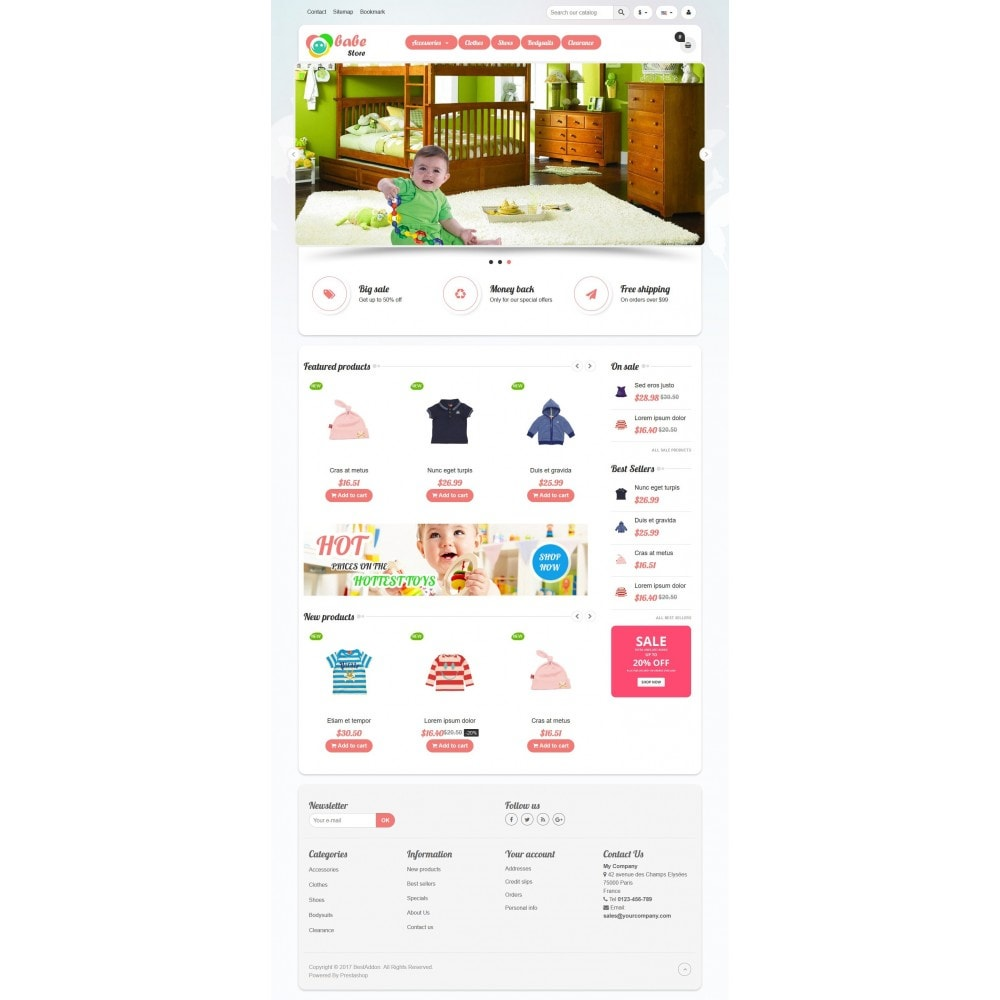 theme - Kids & Toys - VP_Babe Store - 2