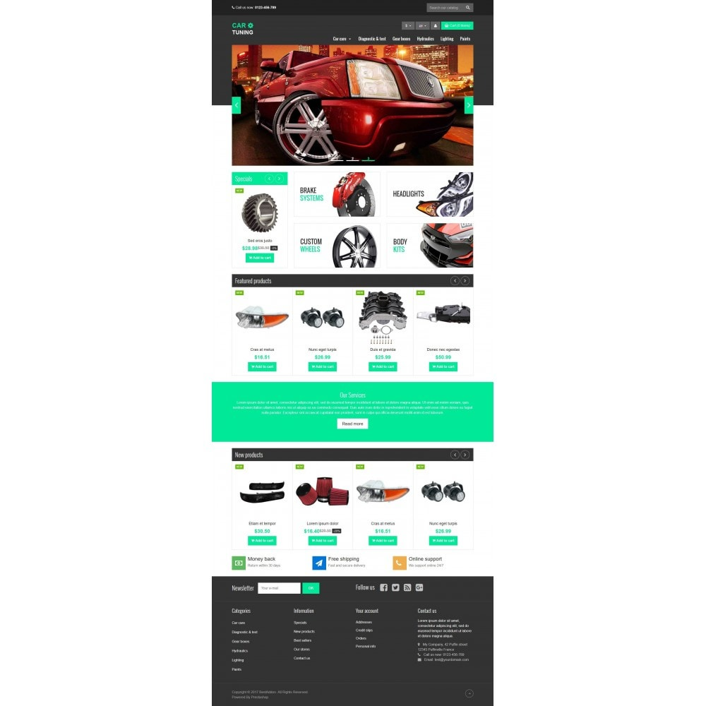 theme - Carros & Motos - VP_CarTuning Store - 2