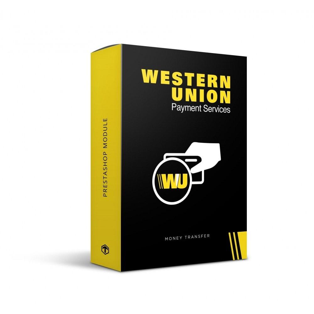 module - Оплата банковской картой или с помощью электронного кошелька - TN Western Union with Online Payment button - 1