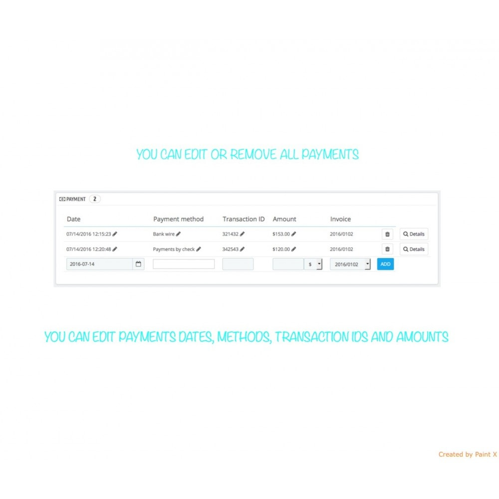 module - Gestione Ordini - Gestione ordini – modifica degli ordini esistenti - 5