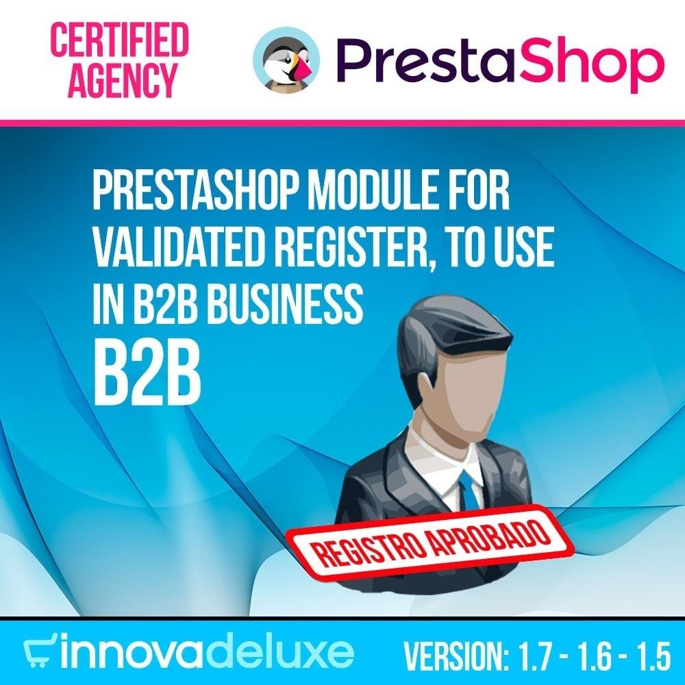 module - B2B - Customers registration validated by the administrator - 1