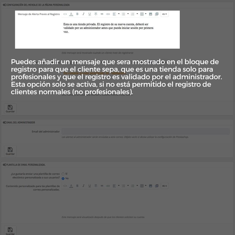 module - B2B - Registro de clientes validado por el administrador - 10