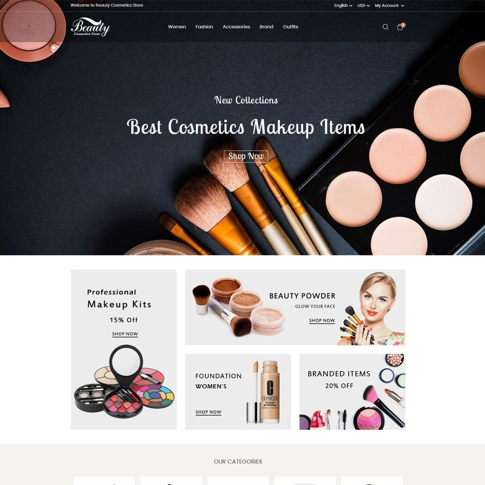 Beauty Cosmetics Store