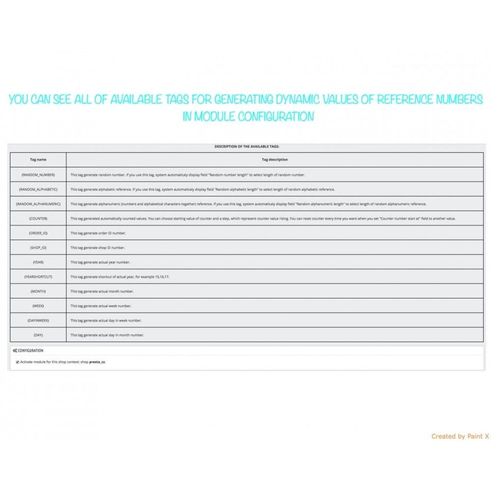 module - Contabilità & Fatturazione - Impostazioni avanzate per numeri di tutti documenti - 5