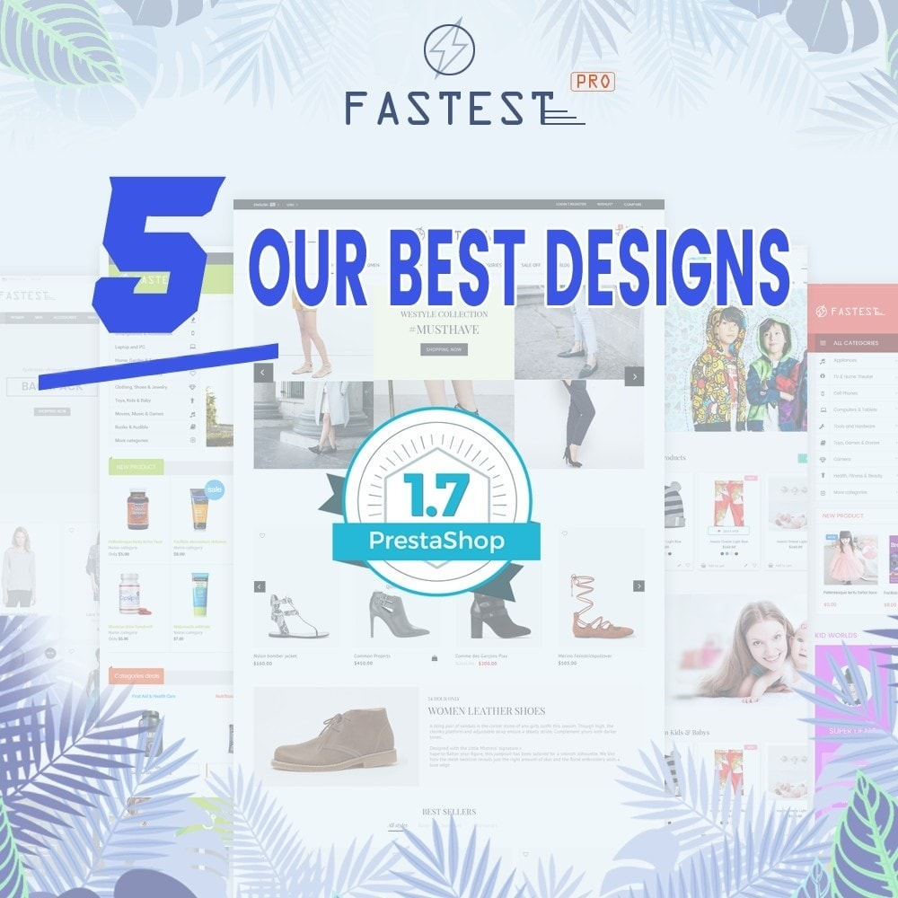 Fastest - Fashion & Accessories Multi Purpose-5 design