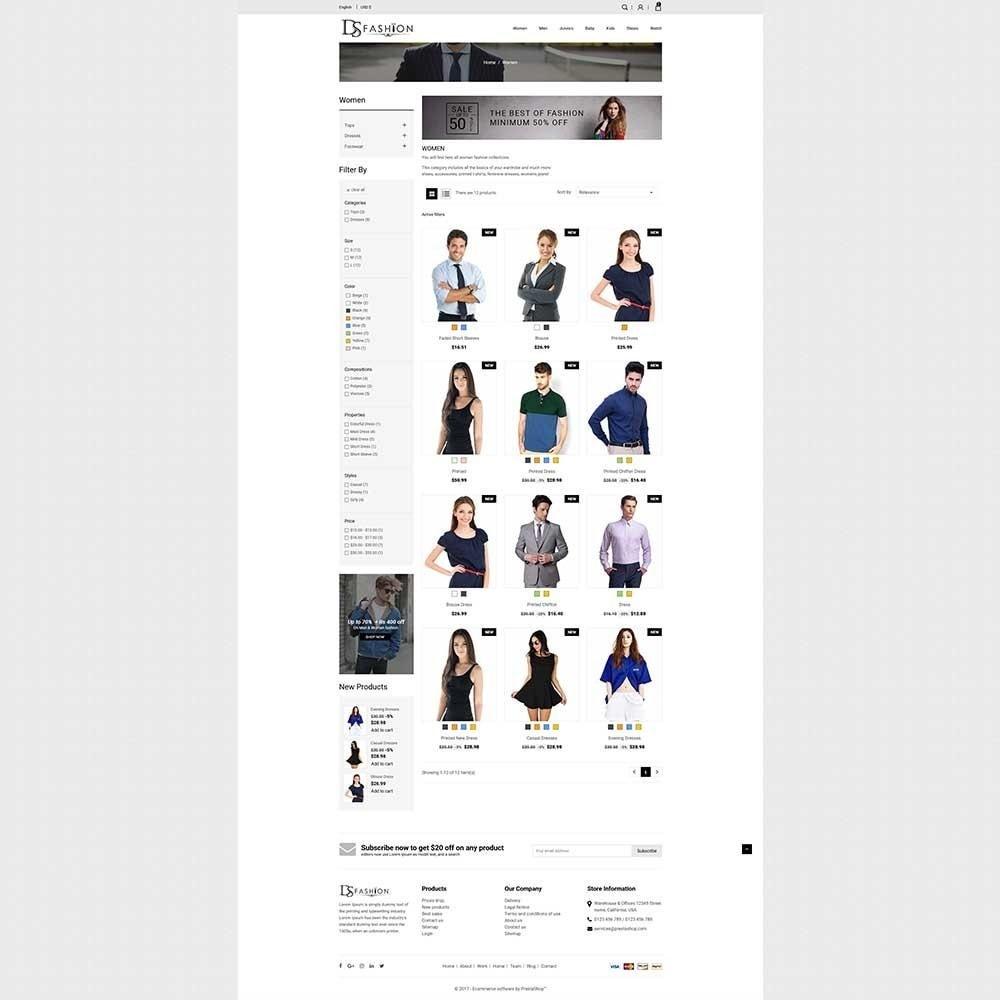 DS - Fashion Store