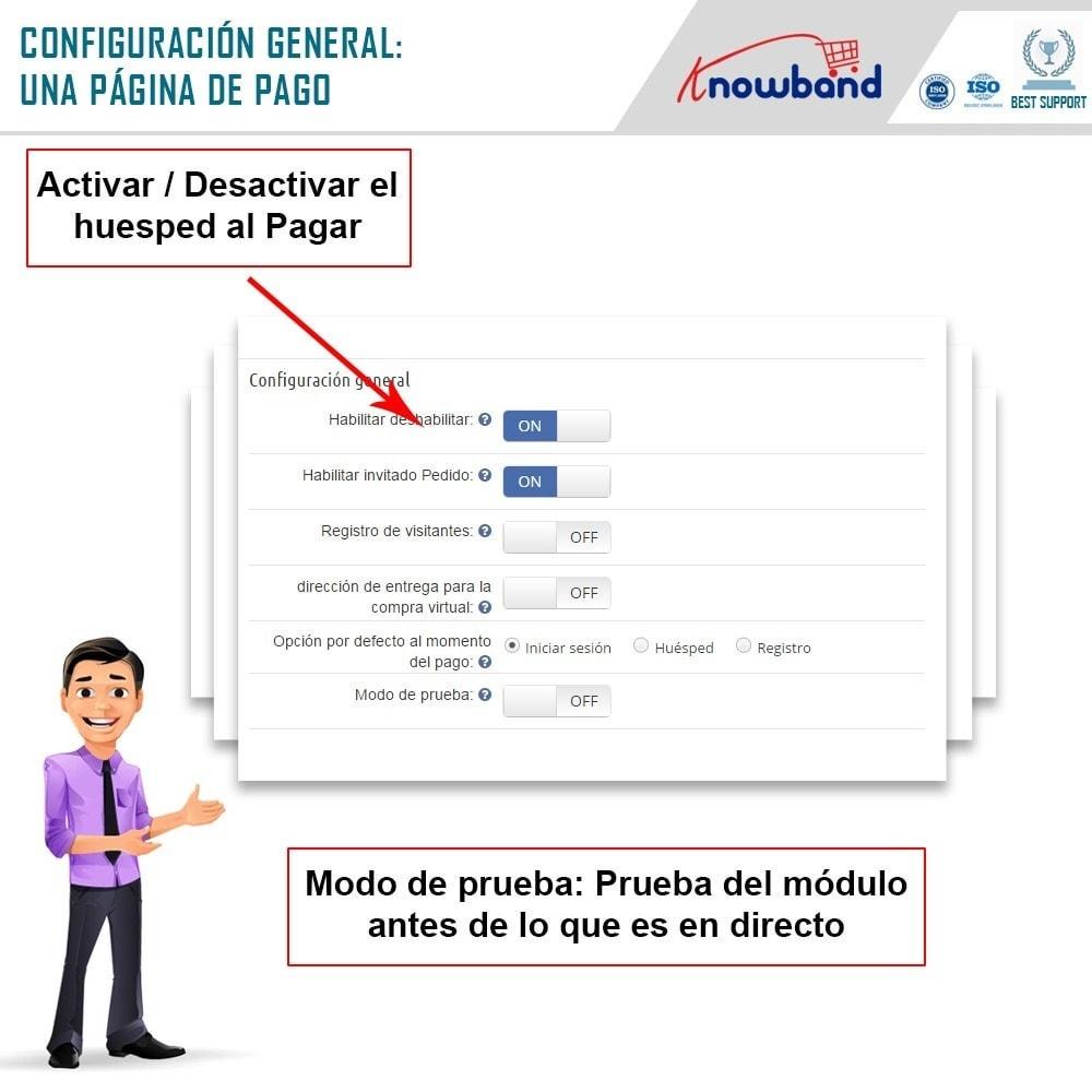module - Proceso rápido de compra - One Page Checkout, Social Login & Mailchimp - 13