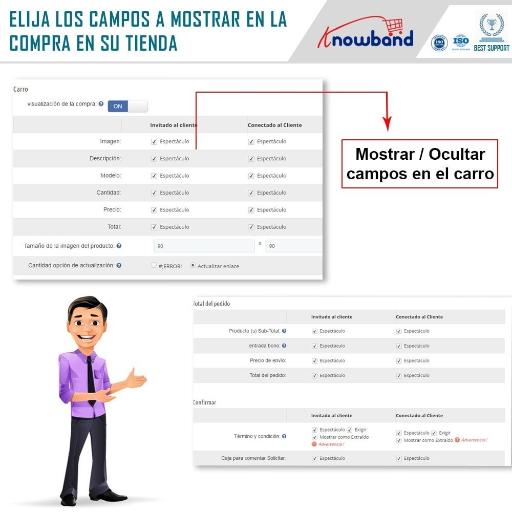 module - Proceso rápido de compra - One Page Checkout, Social Login & Mailchimp - 19