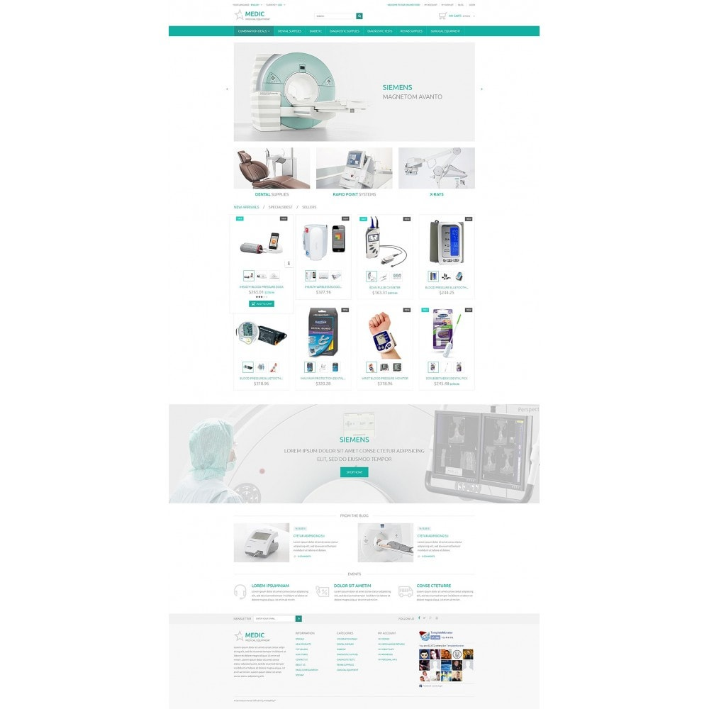 theme - Salud y Belleza - Medical Equipment - 2