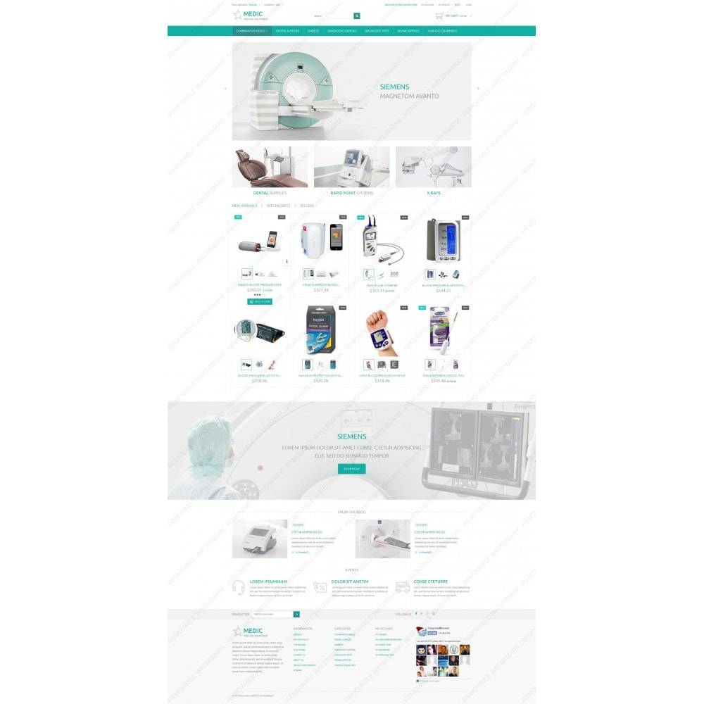 theme - Salud y Belleza - Medical Equipment - 3