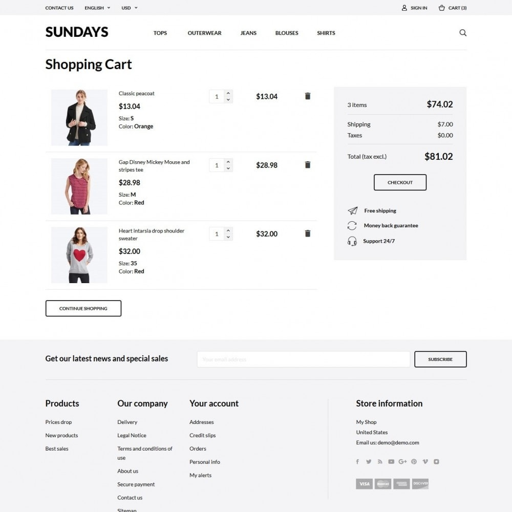 theme - Moda & Calzature - Sundays Fashion Store - 7