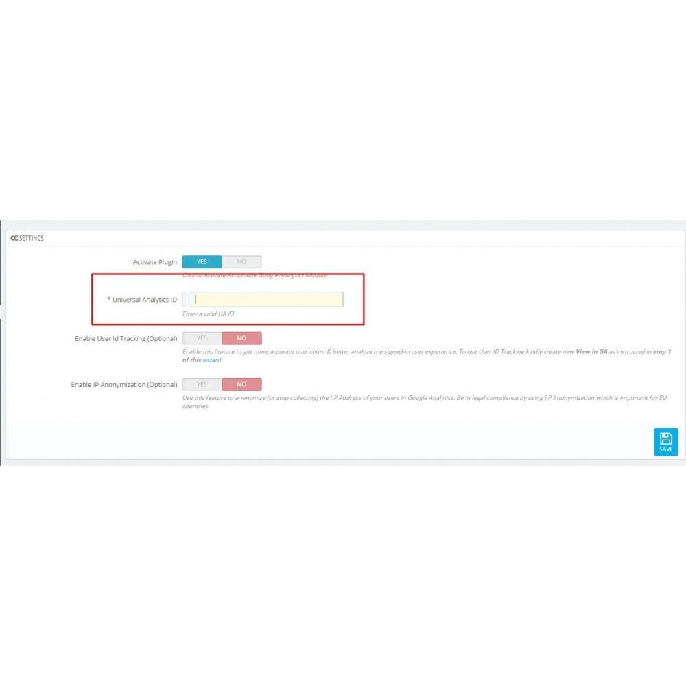 module - Analizy & Statystyki - Actionable Google Analytics - 2