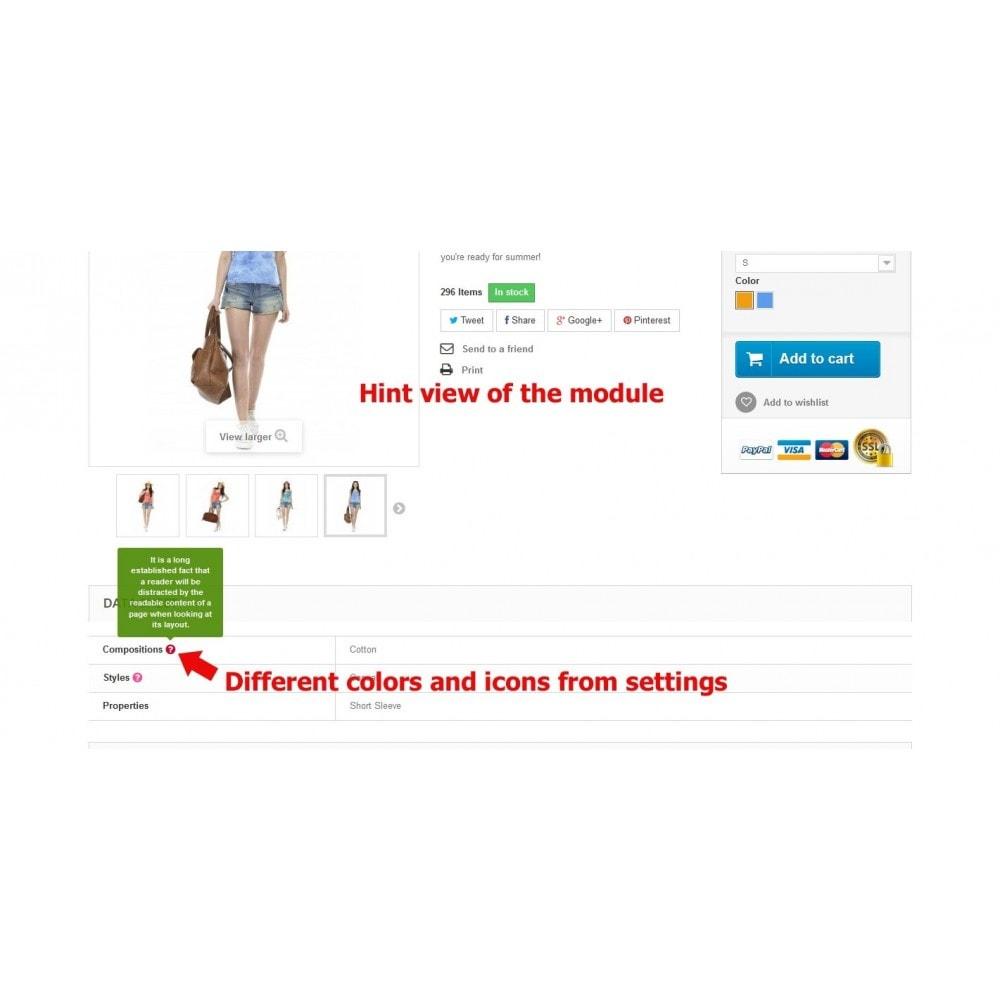 module - Страница продукта - Подсказки для свойств на странице товара - 9