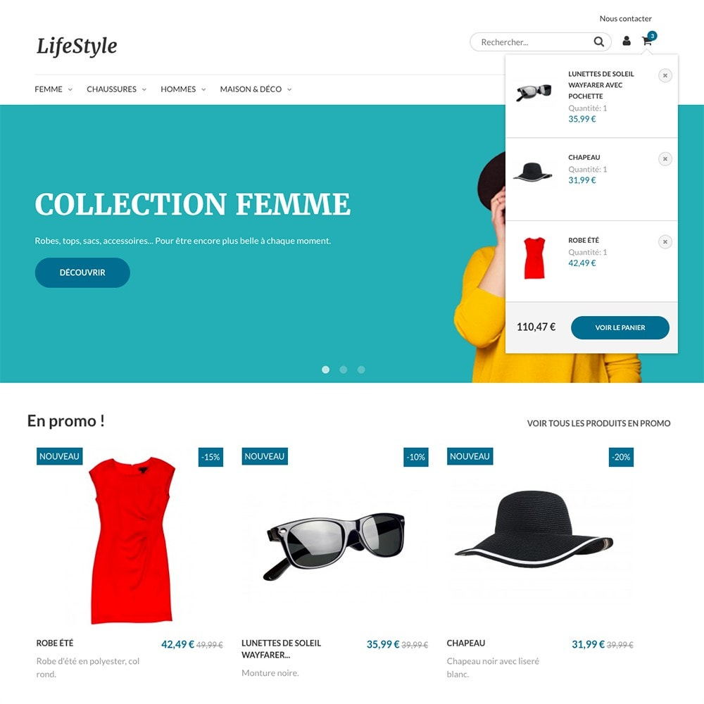 theme - Moda y Calzado - LifeStyle by PrestaShop - Fashion & Design - 5