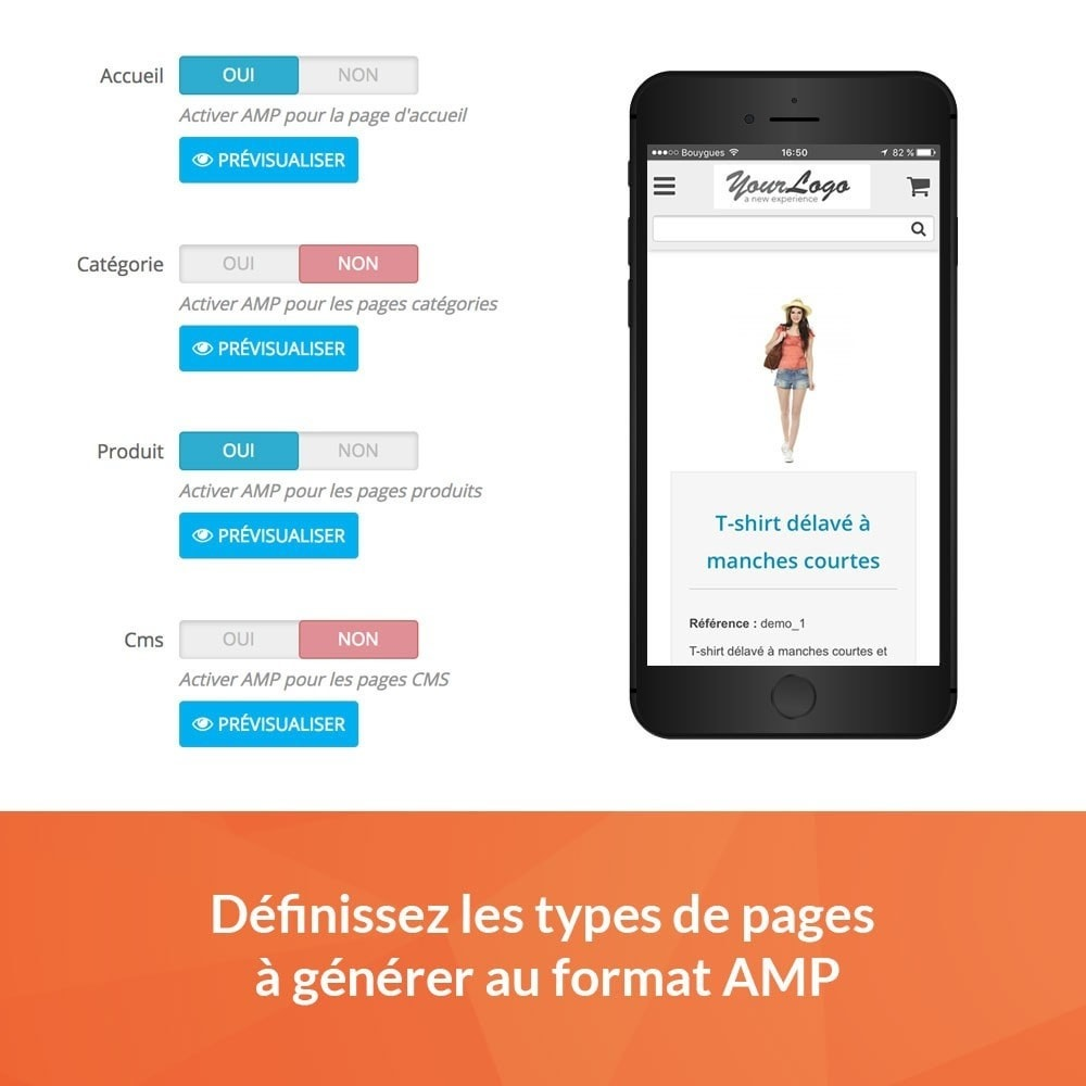 module - Performance du Site - Accelerated Mobile Pages (AMP) PRO - 2