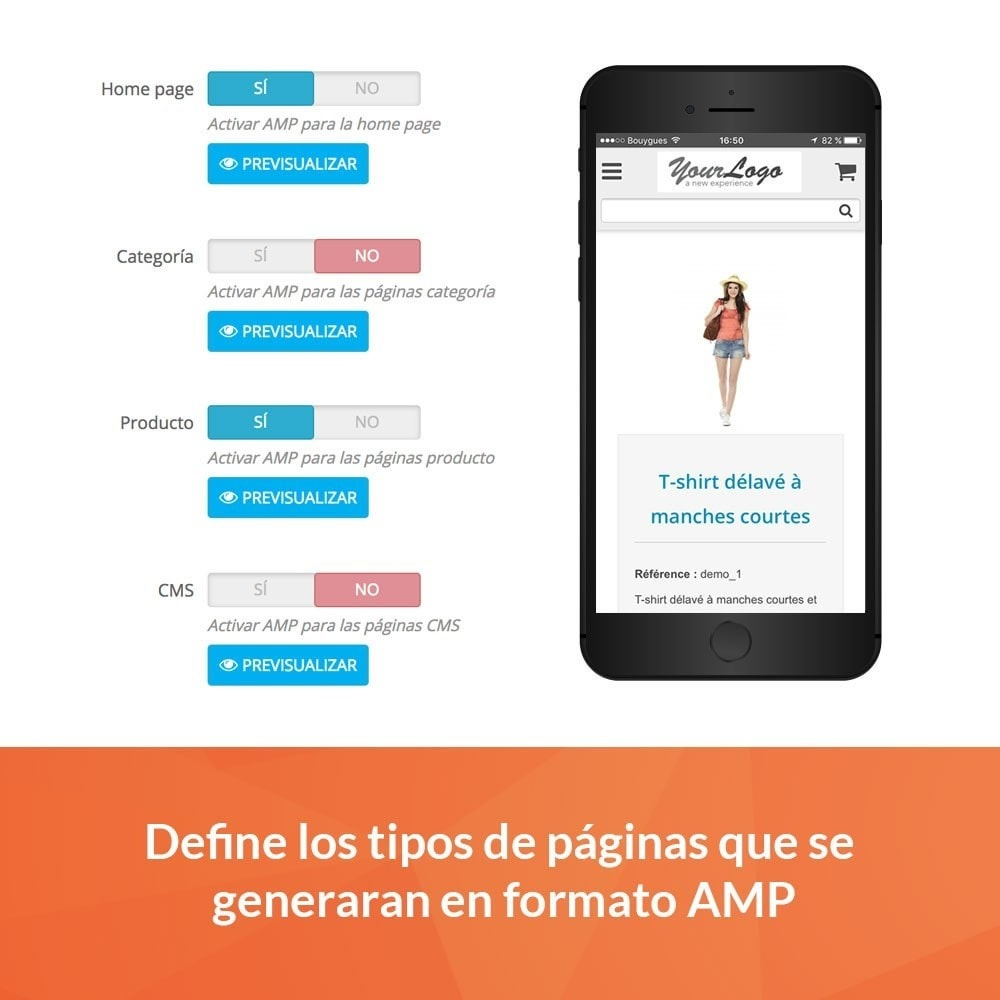 module - Rendimiento del sitio web - Accelerated Mobile Pages (AMP) PRO - 2