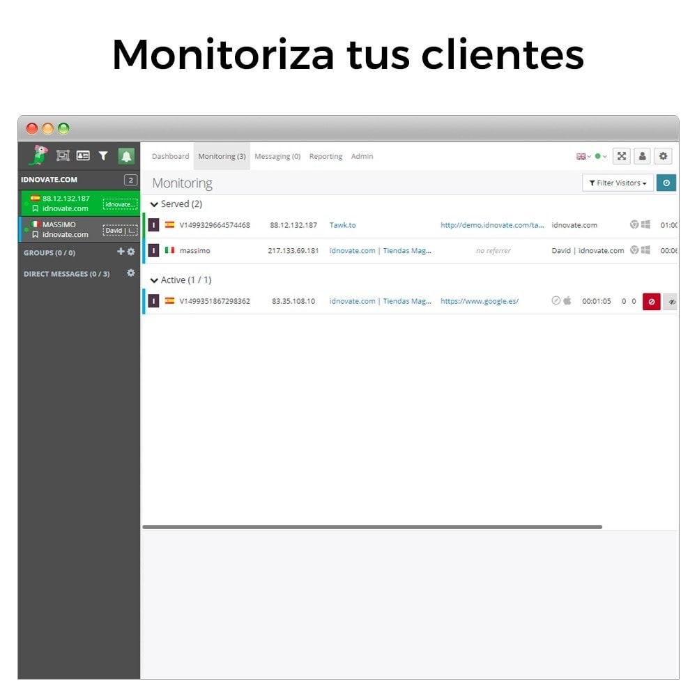 module - Asistencia & Chat online - Tawk.to - Chat integrado en tiempo real - 9