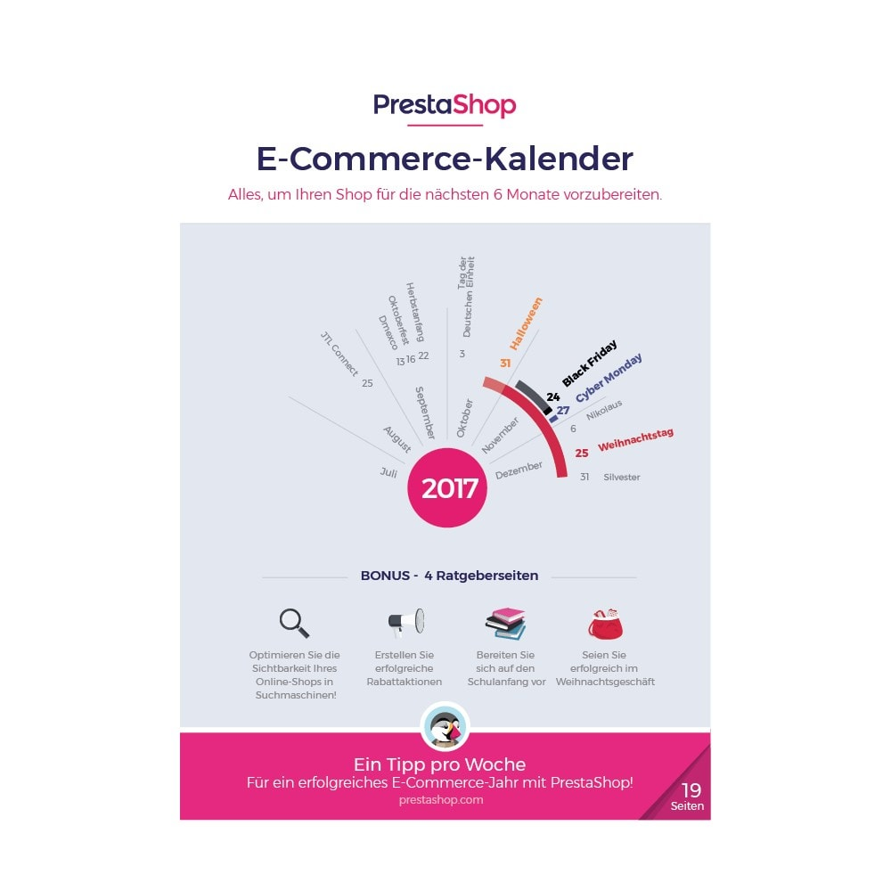 other - eCommerce Kalender - E-Commerce-Kalender für das zweite Halbjahr 2017 - 1
