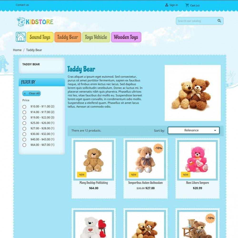 theme - Дети и Игрушки - Kidstore 4 - 2