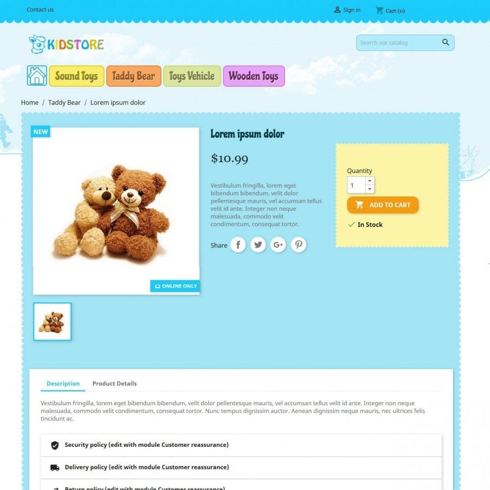 theme - Дети и Игрушки - Kidstore 4 - 3
