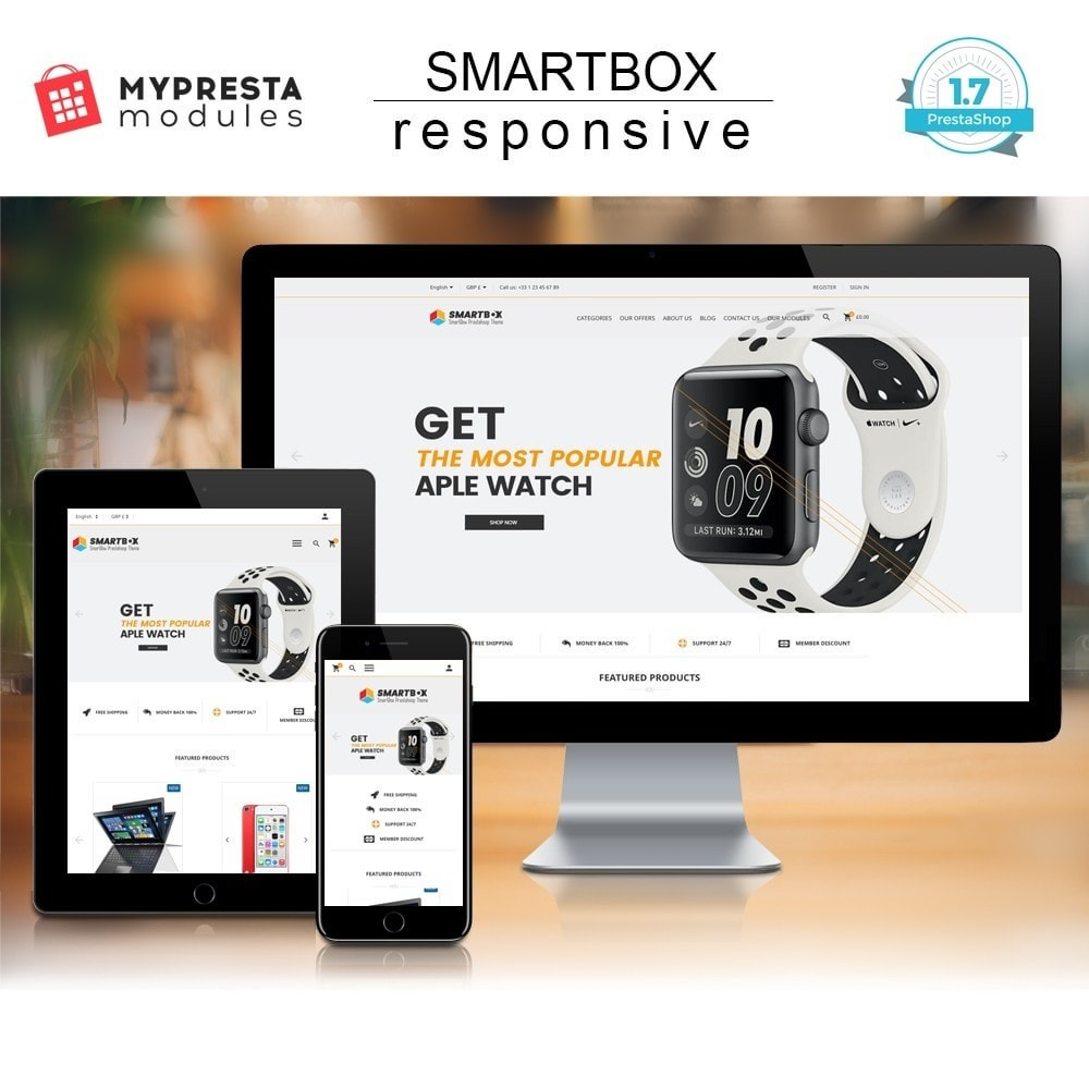 theme - Elektronica & High Tech - SmartBox - 1