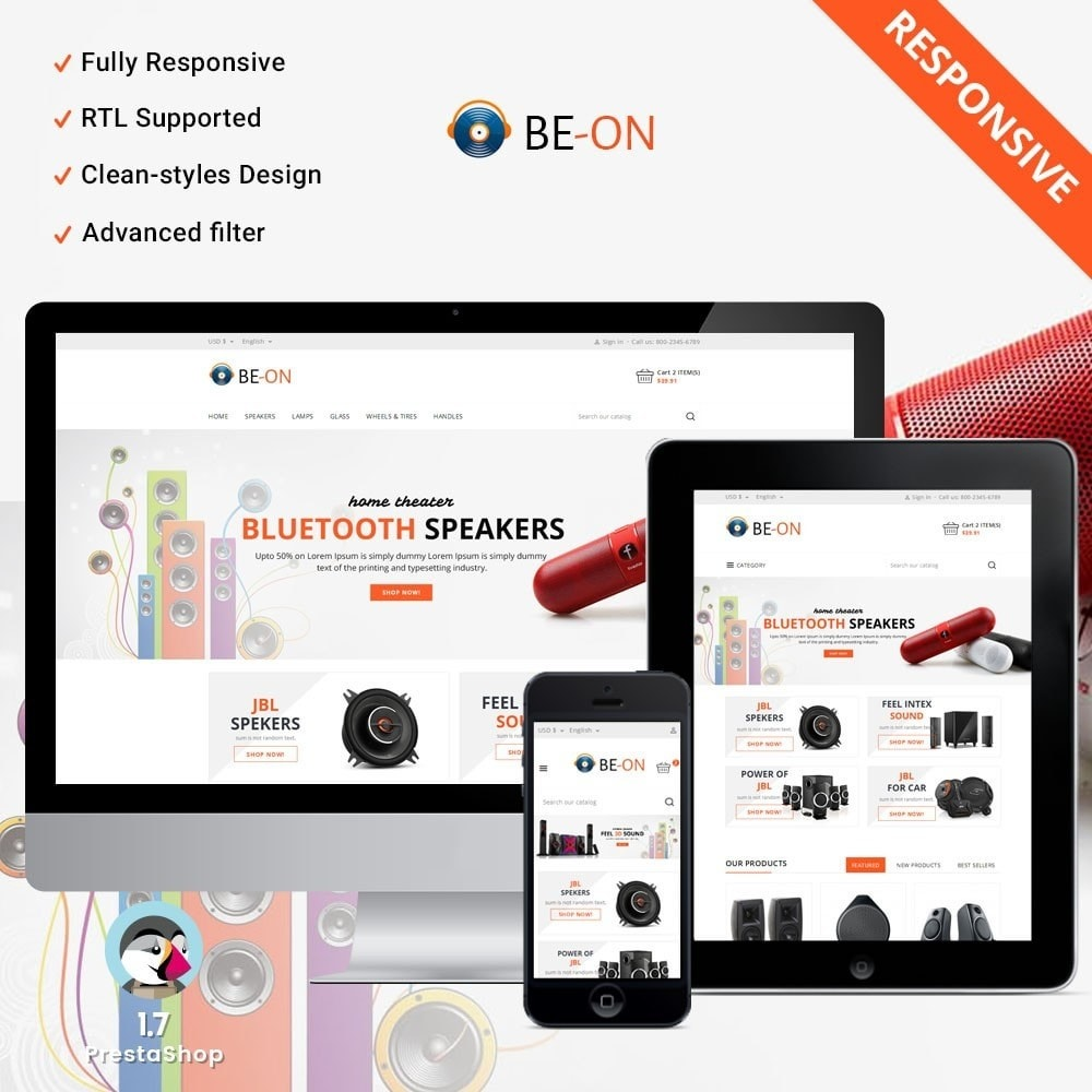 theme - Electronics & Computers - Beon Store - 1