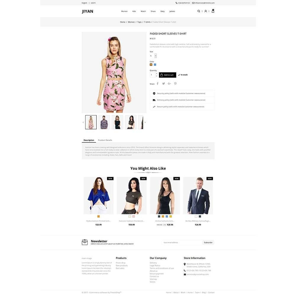 theme - Mode & Schoenen - Jiyan - Fashion Store - 4