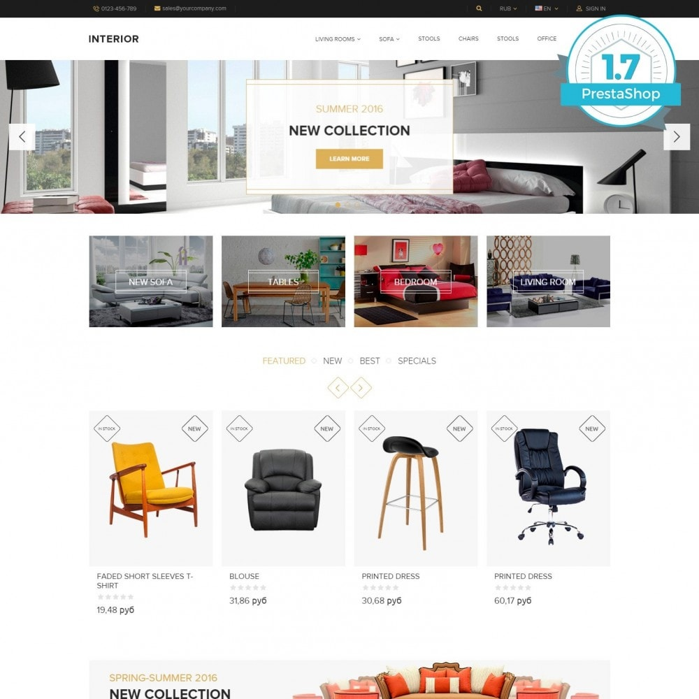Interior - Furniture Online Store