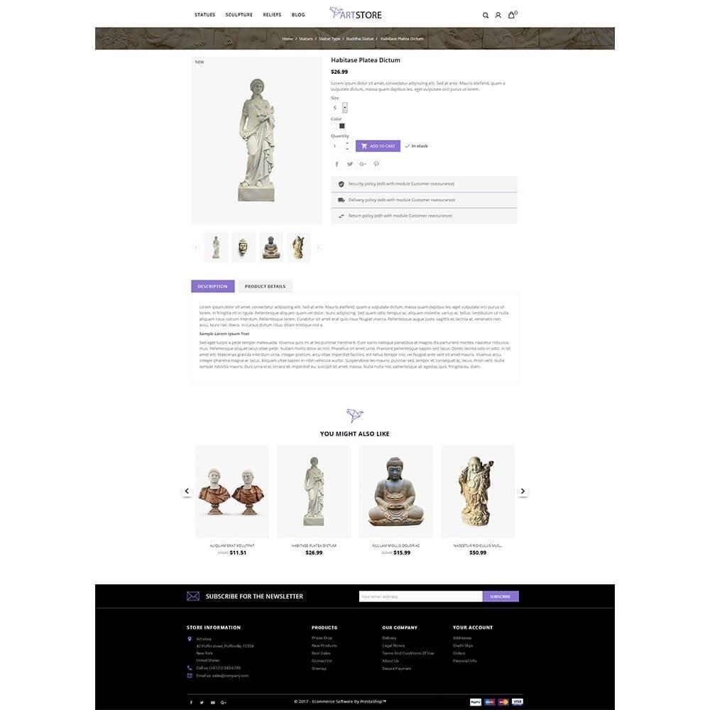 theme - Arte e Cultura - Art Store - 5