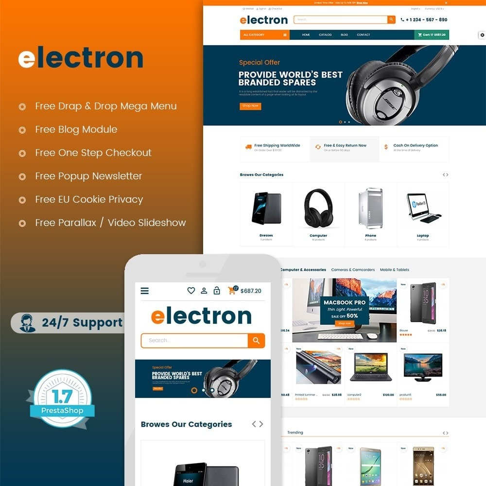 Electron - Digital, Electronics & Hi-Tech Store
