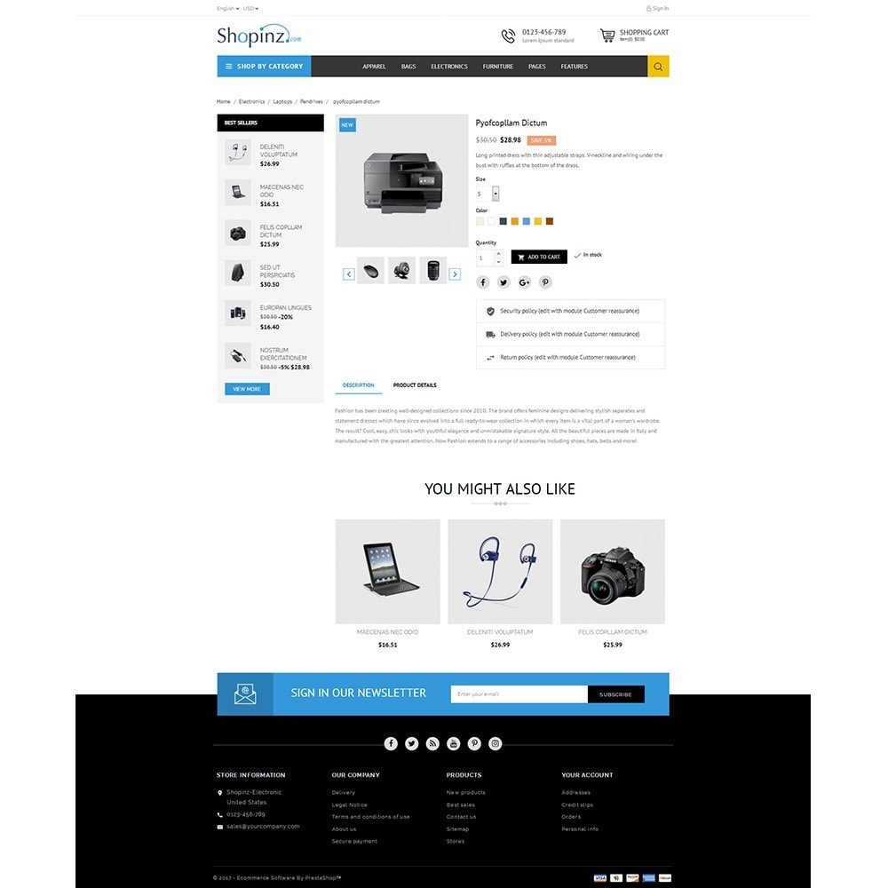 theme - Elettronica & High Tech - Electronic Store - 5