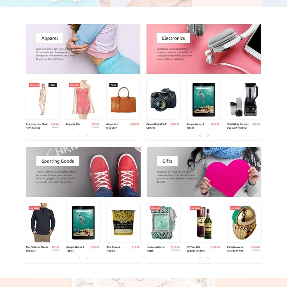 theme - Moda & Calzature - Hugesale 1.7 - 2