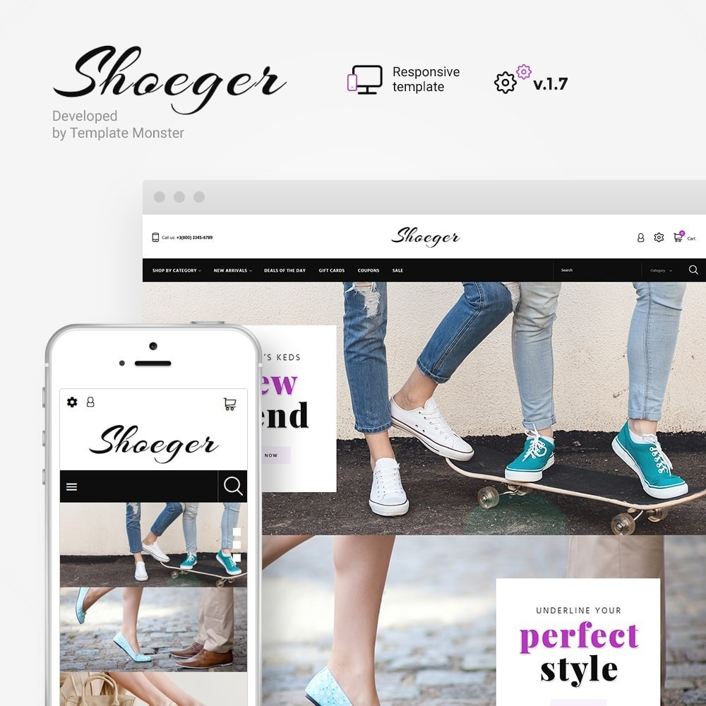 theme - Mode & Chaussures - Shoeger - 1