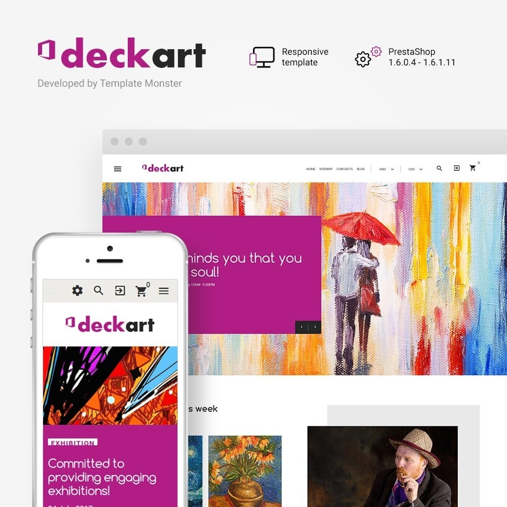 DeckArt - Responsive Theme
